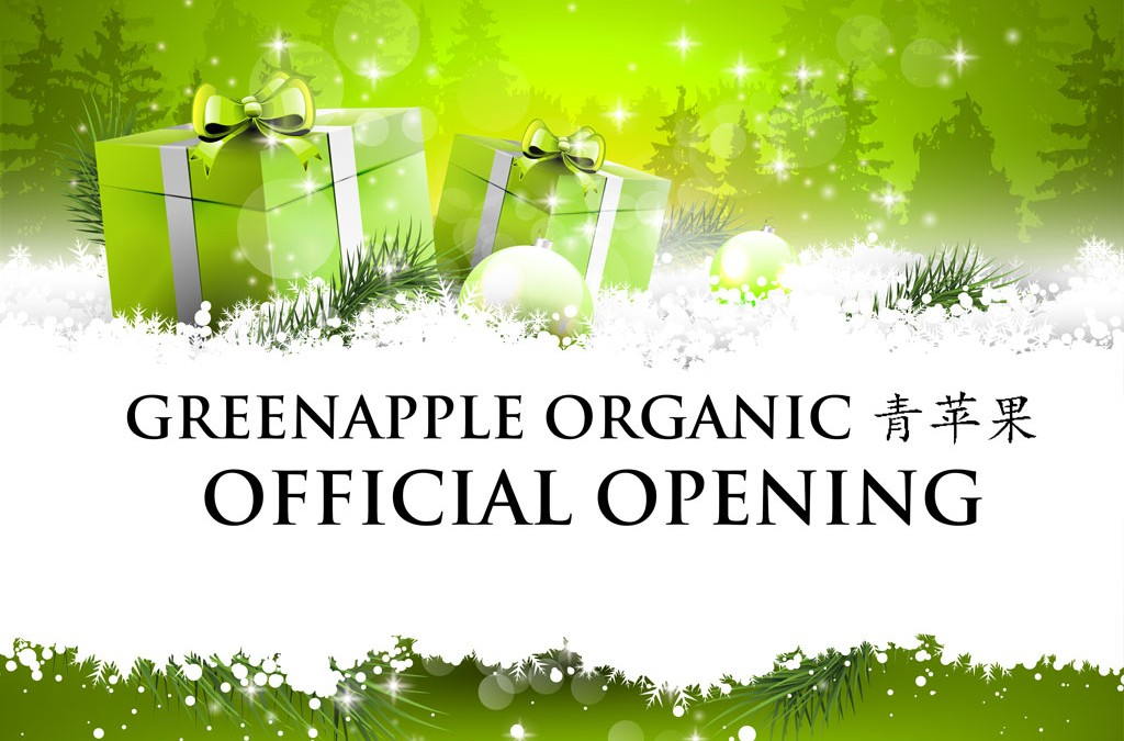 Greenapple Organic Launch