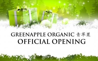 Greenapple Organic Launch